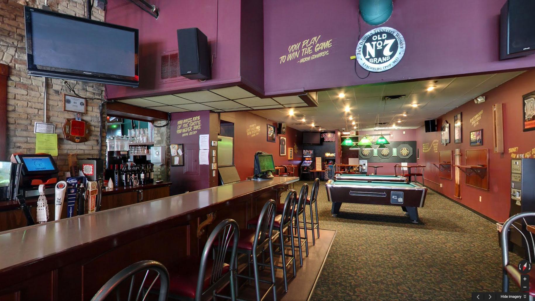 Google Street View Trusted Lansing Bar Entertainment Pub Restaurant