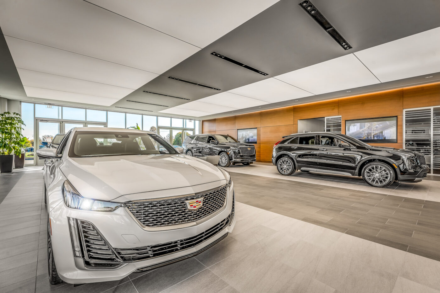 Architectural Photography of Shaheen Cadillac in Lansing, MI